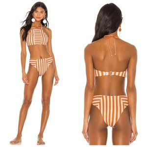 House of Harlow 1960 x Revolve Tigers Eye Bikini